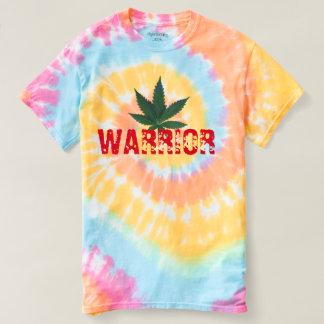 diseño divertido de la camiseta del guerrero del