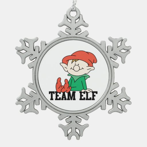 diseño divertido de Navidad del ayudante de santas Adornos