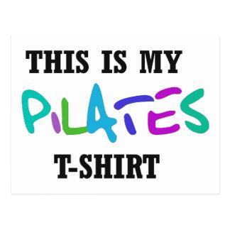 ¡Diseño divertido de Pilates! Postales