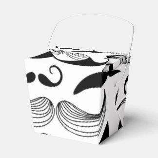 Diseño divertido del bigote caja para regalos