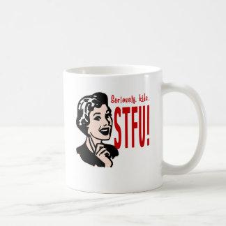 Diseño divertido del día de madre taza de café