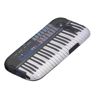 Diseño divertido del teclado galaxy SIII funda