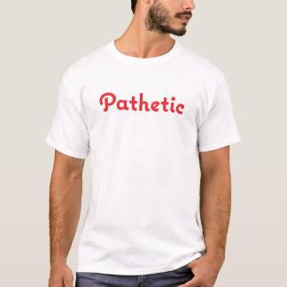 Diseño divertido patético del llano de la camiseta
