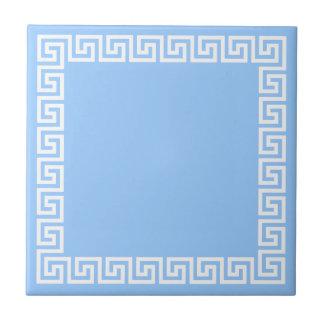 Diseño dominante griego teja
