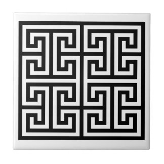 Diseño dominante griego teja cerámica