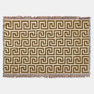 Diseño dominante griego manta