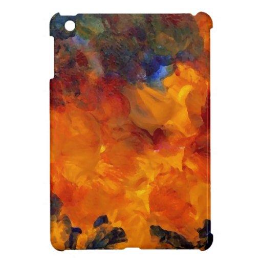 Diseño dramático de las llamas del diseñador del f iPad mini carcasas