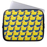 Diseño Ducky de goma amarillo impresionante del pa Fundas Ordendadores