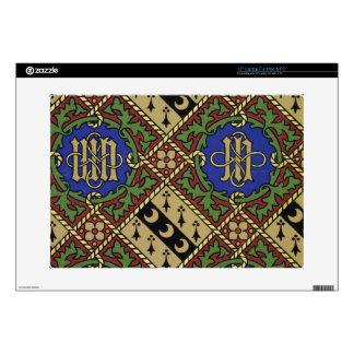 Diseño eclesiástico del papel pintado de la impres skins para portátil