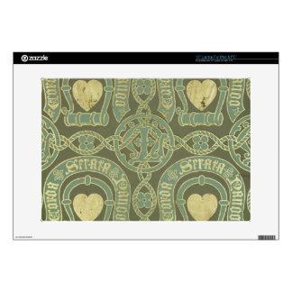 Diseño eclesiástico del papel pintado del adorno d skins para 38,1cm portátiles