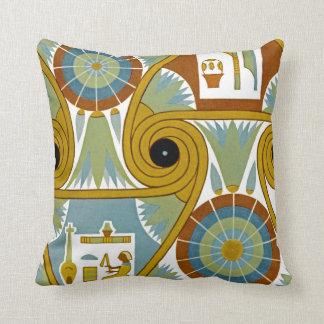 Diseño egipcio #1 en Emporio Moffa Cojín Decorativo