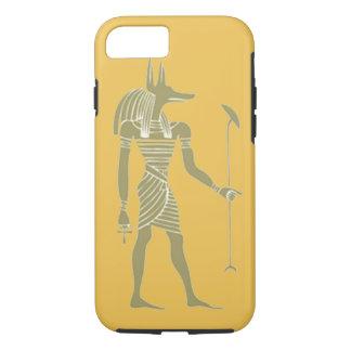 diseño egipcio antiguo del estuche rígido del funda iPhone 7
