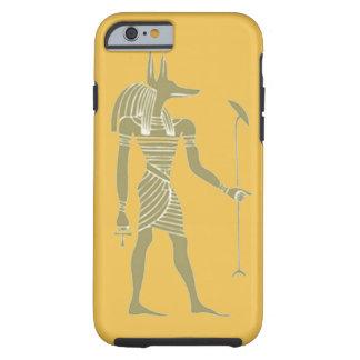 diseño egipcio antiguo del estuche rígido del funda resistente iPhone 6