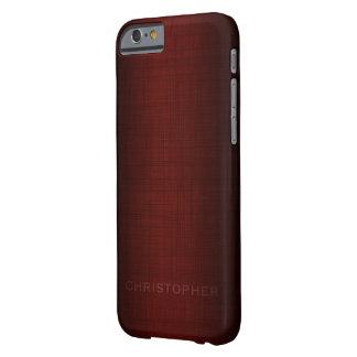 Diseño ejecutivo de hombres con el nombre para los funda barely there iPhone 6