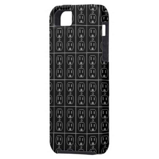 Diseño eléctrico del arte del mercado iPhone 5 carcasas