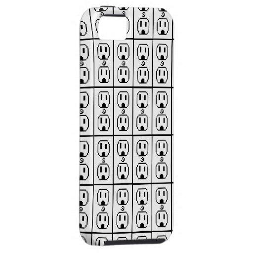 Diseño eléctrico del arte del mercado iPhone 5 Case-Mate cárcasa