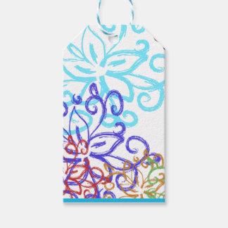 Diseño elegante de la etiqueta del regalo del etiquetas para regalos