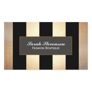 Diseño elegante de la joyería del boutique de la tarjetas de visita