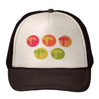 Diseño elegante de los elepahnts coloridos frescos gorras