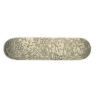 Diseño elegante de Nouveau del arte de la vid del  Tablas De Patinar