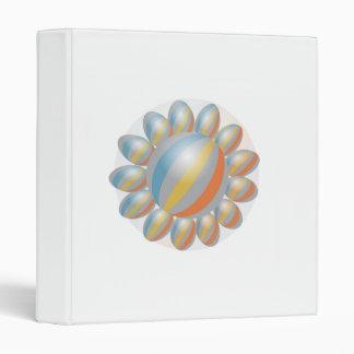 Diseño elegante del girasol del arco iris