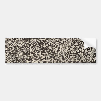 Diseño elegante del nouveau del arte del narciso d pegatina para auto