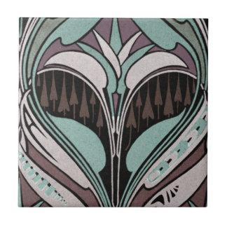 diseño elegante del nouveau del arte del trullo y  azulejo cuadrado pequeño
