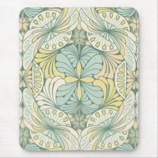 diseño elegante del remolino del nouveau del arte tapete de ratón