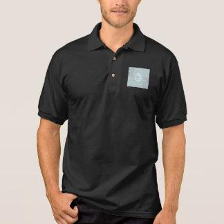 diseño elegante felicitación abuelo polo tshirts