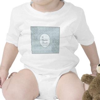 diseño elegante felicitación abuelo traje de bebé