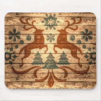Diseño elegante hermoso de dos machos tapetes de ratones
