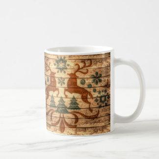 Diseño elegante hermoso de dos machos taza de café