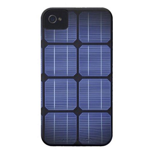 Diseño elegante moderno fresco del panel solar 3d Case-Mate iPhone 4 cárcasa