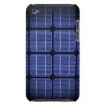 Diseño elegante moderno fresco del panel solar 3d iPod Case-Mate cárcasas