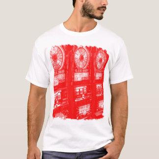 Diseño en blanco de la camisa de la máquina