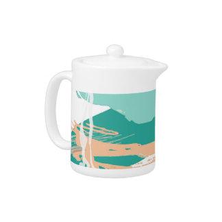 diseño en colores pastel abstracto