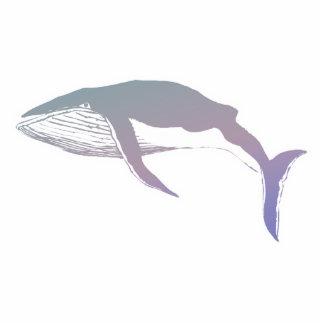 diseño en colores pastel de la ballena escultura fotografica