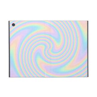 Diseño en colores pastel de la torsión del remolin iPad mini cárcasa
