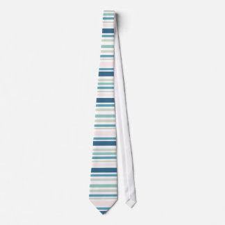 Diseño en colores pastel de las rayas corbatas