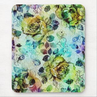 Diseño en colores pastel de los rosas y de los tapete de ratones