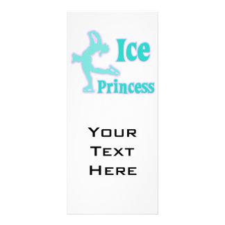 diseño en colores pastel la princesa del hielo del diseños de tarjetas publicitarias