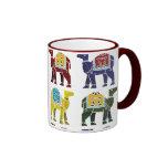 Diseño en la taza - todos los estilos del camello