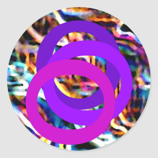 Diseño enérgico 7 - el mundo sin la función etiquetas redondas
