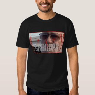 Diseño enojado #1 de la camiseta del abuelo playeras