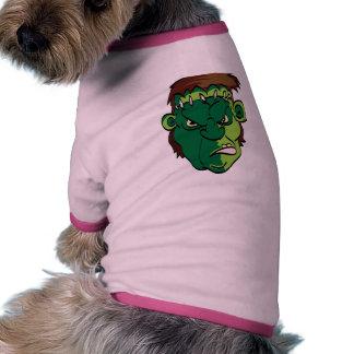 Diseño ENOJADO de Frankie Camisas De Mascota