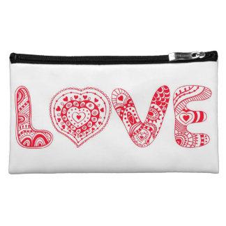 Diseño enrrollado del amor con el corazón
