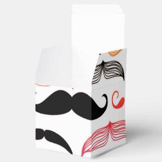 Diseño enrrollado del bigote del arco iris caja para regalos de fiestas