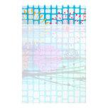 Diseño enrrollado del extracto de los rayos ligero papeleria de diseño