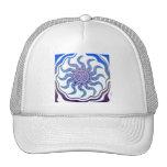 Diseño enrrollado gorras