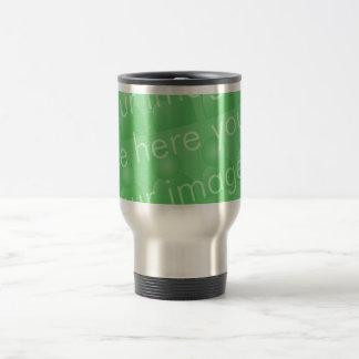 Diseño envuelto taza de viaje de acero inoxidable